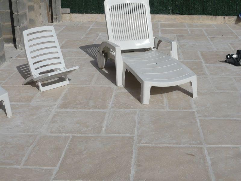 Dallages de piscine ton pierre toulon aix en provence - Dalle terrasse pierre reconstituee ...